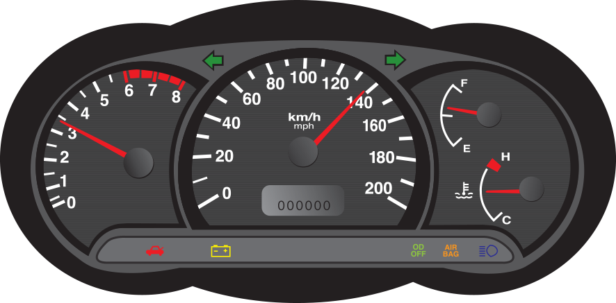 Warning Lights On Your Dashboard Motorway Windscreens