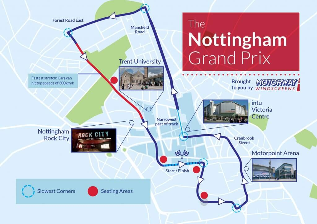 What if the Grand Prix was in Nottingham, Hull or Leeds?