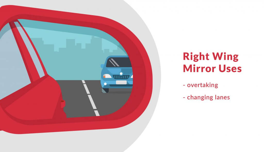 Is it illegal to drive with a broken wing mirror?